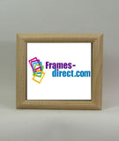 SQ6626 Square Maple Wrapped Polymer Frame