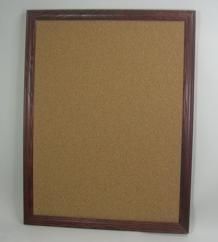 BU5950 16x20 Cherry Wood Framed Bulletin Board