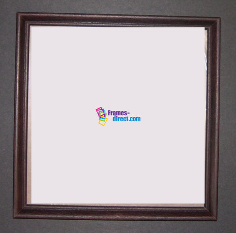 SQ5000 Square Mahogany Wood Frame