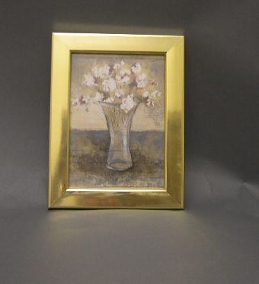 PH7009 Gold Metallic Photo Frame