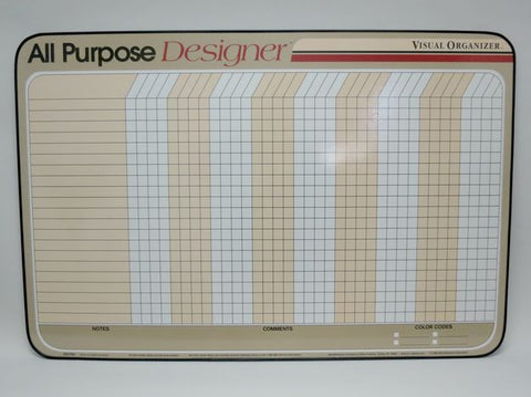 CO VISUAL ORG All-Purpose Organizer