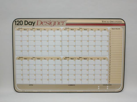 CO 120 DAY DESIGN Tan Planner