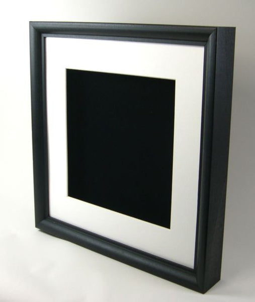 Sbm2000 12x12 Black Wood Shadow Box 1 Quot Deep Frames