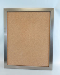 BU8016 Silver Framed Bulletin Board
