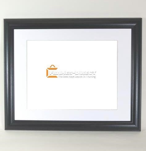 AW7000 11x14 Black Wood Frame, Holds 8.5x11 Certificate or Diploma