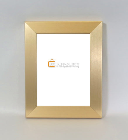 PH0226 Brushed Gold MDF Photo Frame 6x8