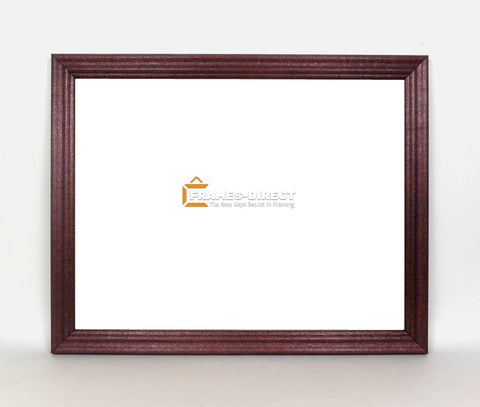 SM3500 8.5x11 Mahogany Wood Document Frame