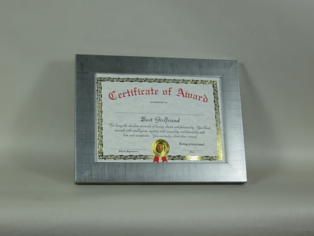 PH4228 Silver picture frame 5x7