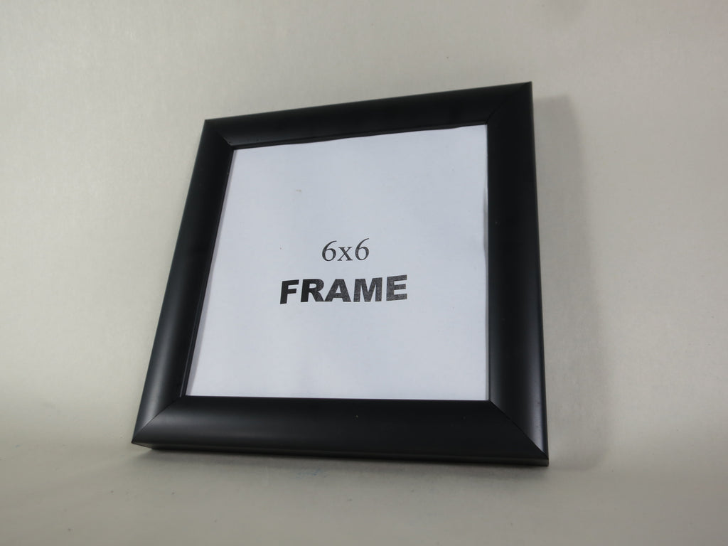 SQ6661 Black 6x6 picture frame