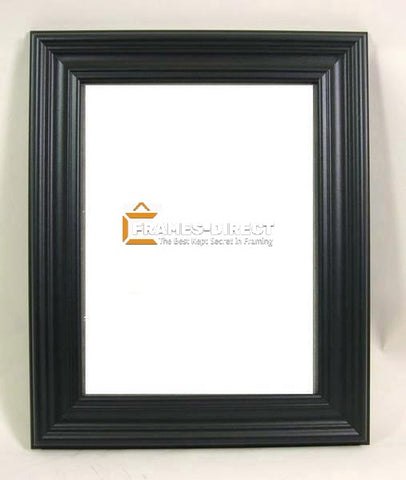 SM2103 8.5x11 Black Manufactured Wood Frame