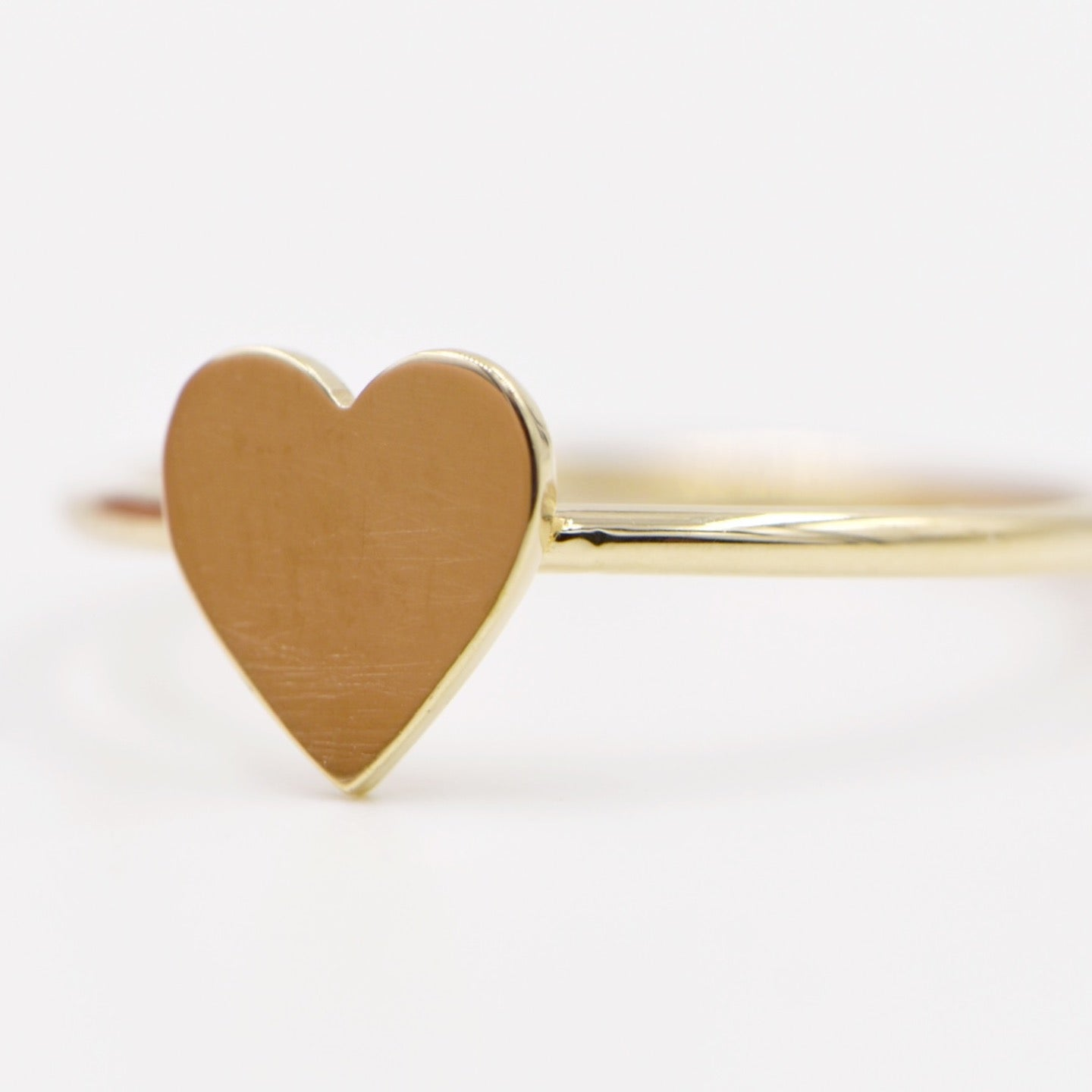 Heart of 14k Gold Ring