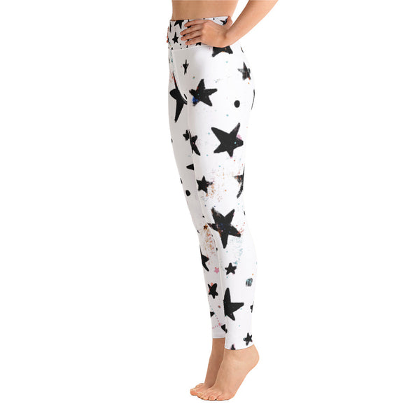 Star Art Yoga Leggings