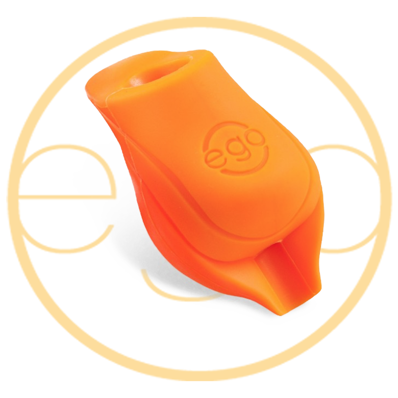 EGO Silicone BioGrips small in Orange with lip - Up to 19MM Tubes