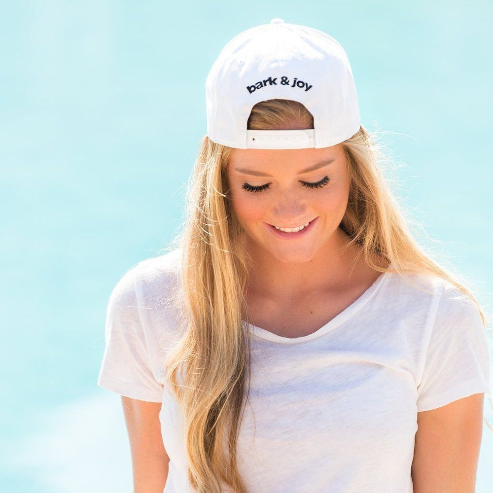 White USA Hat