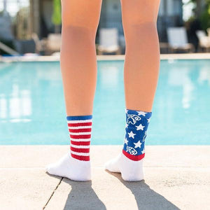 Star Spangled Socks