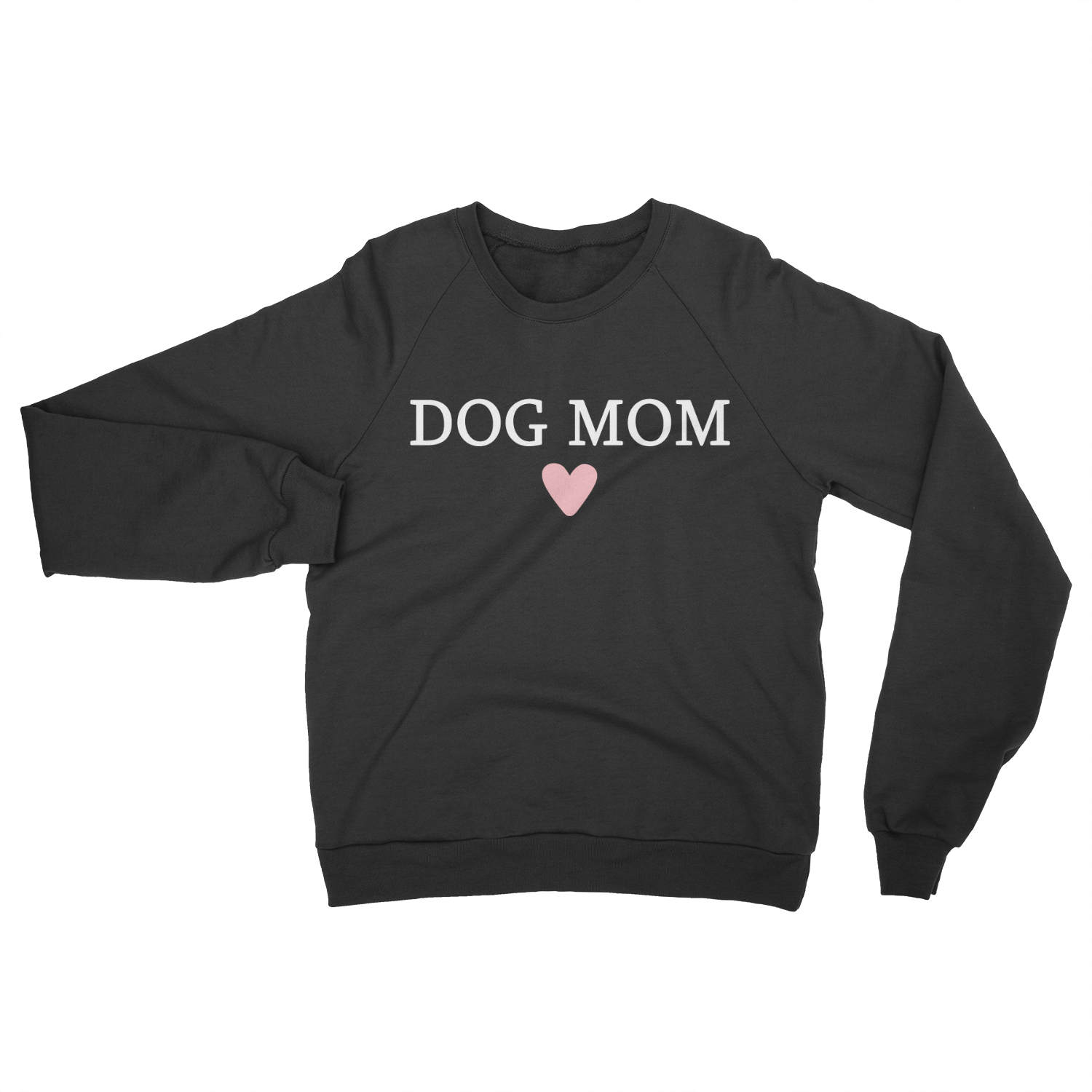 Dog Mom Crewneck - CHARCOAL