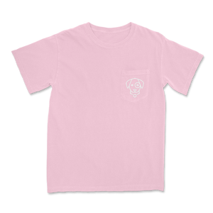 Sea Shells Beach Vibe- Short Sleeve Pocket Tee