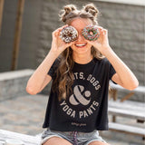 Donuts, Dogs & Yoga Pants - BLACK