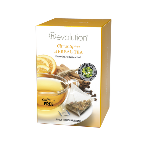 Revolution Citrus Spice Herbal Tea