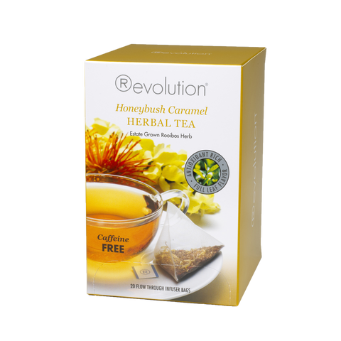 Revolution Honeybush Carmel Herbal Tea