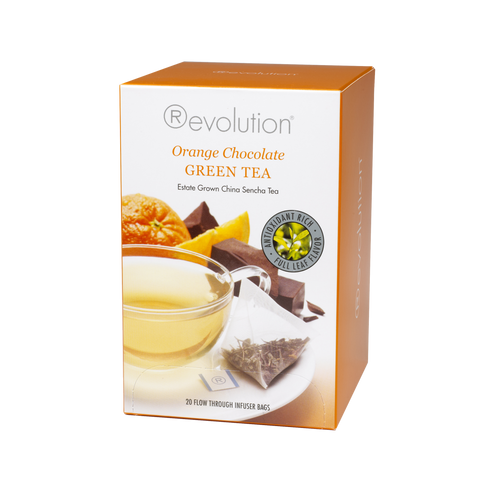 Photo of Revolution Orange Chocolate Green Tea