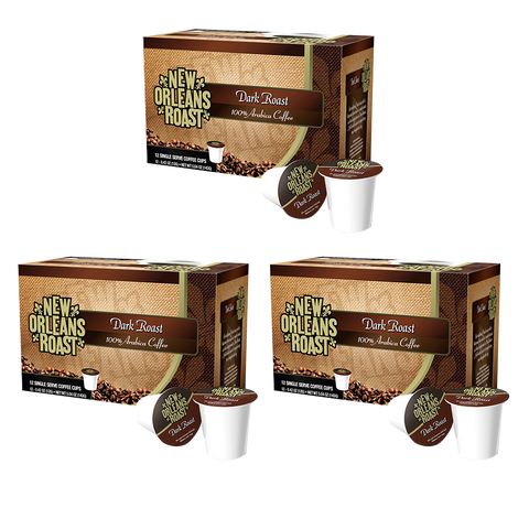 Dark Roast Single Serve Cups (3-Pack / 12 Count)