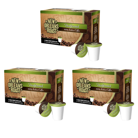 Decaffeinated Single Serve Cups (3-Pack / 12 Count)