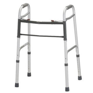 Nova 4090 Folding Adult Walker - 2 Button