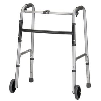 Nova 4070YW5 Folding Walker with 5