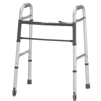 Nova 4090YW3 Folding Walker with 3