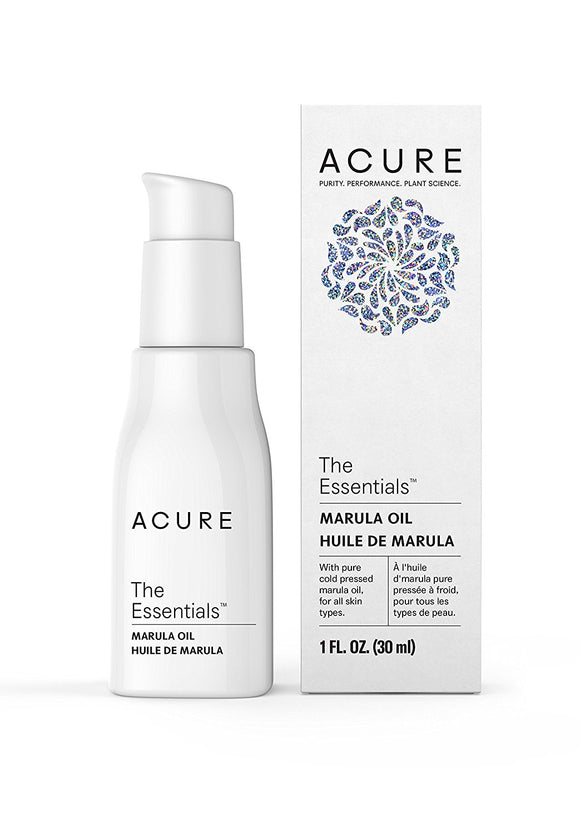 Acure The Essentials Marula Oil, 1 oz (30 ml)