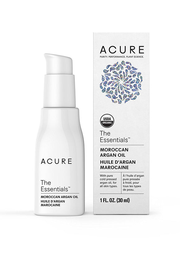 Acure The Essentials Moroccan Argan Oil, 1 oz (30 ml)
