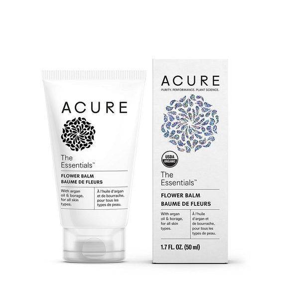 Acure The Essentials Flower Balm, 1.7 oz (50 ml)