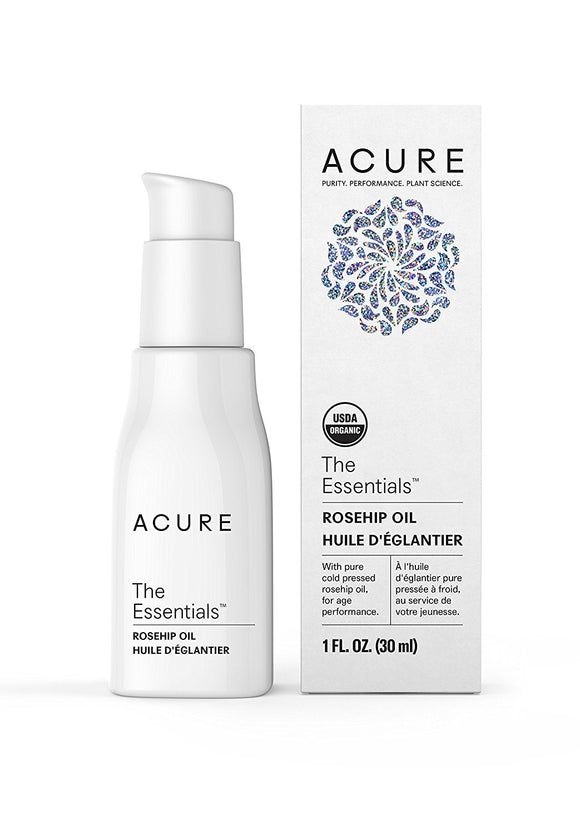 Acure The Essentials Rosehip Oil, 1 oz (30 ml)