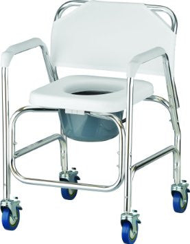 NOVA 8800 Shower Commode with Wheels