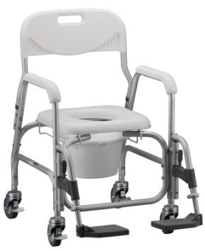 NOVA 8801 Deluxe Shower Chair and Commode
