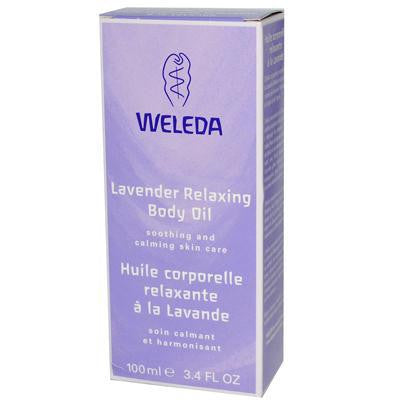 Weleda Lavender Body Oil, 3.4 fl oz