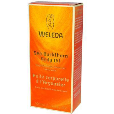 Weleda Sea Buckthorn Body Oil, 3.4 fl oz