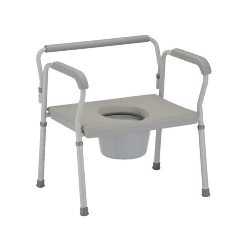 NOVA 8582 Heavy Duty Commode with Extra Wide Seat