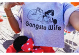 Gangsta Wife cropped sweater One size