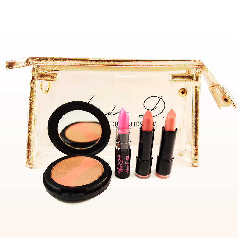 THE BOYFRIEND TRIO: THE PINKISH CLUB - www.heididcosmetics.com