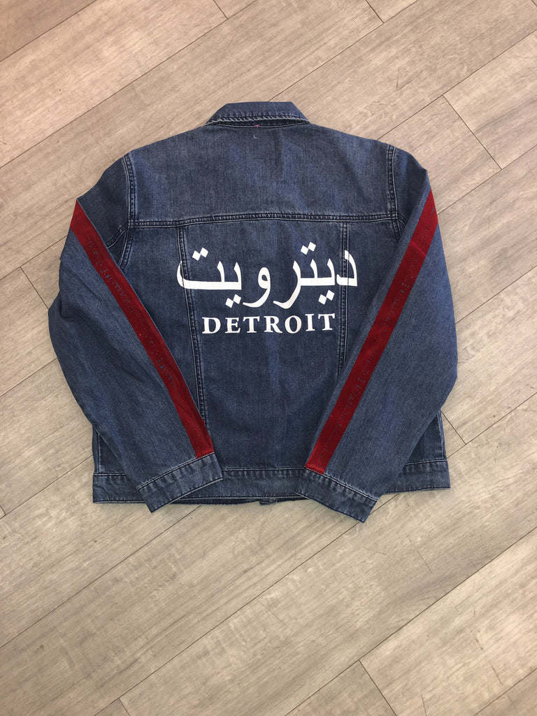 Denim Arabic Jacket