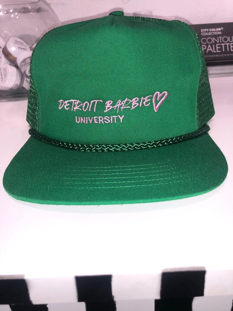 Detroit Barbie Hat