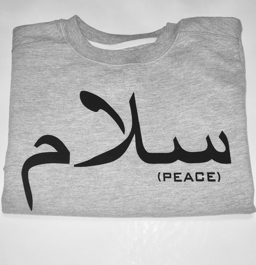 Peace Arabic Sweater
