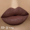 Mr. Wrong matte lip paint - www.heididcosmetics.com
