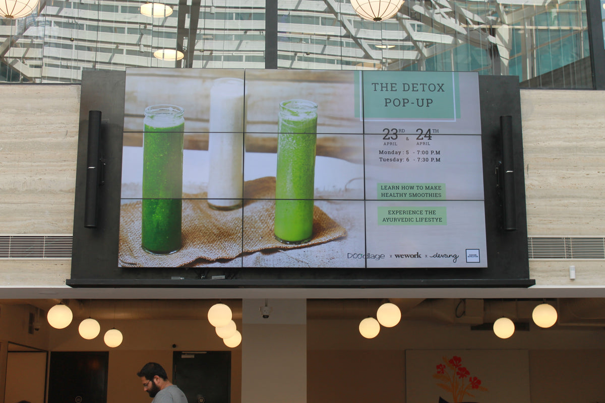 The Detox Pop-Up at Wework
