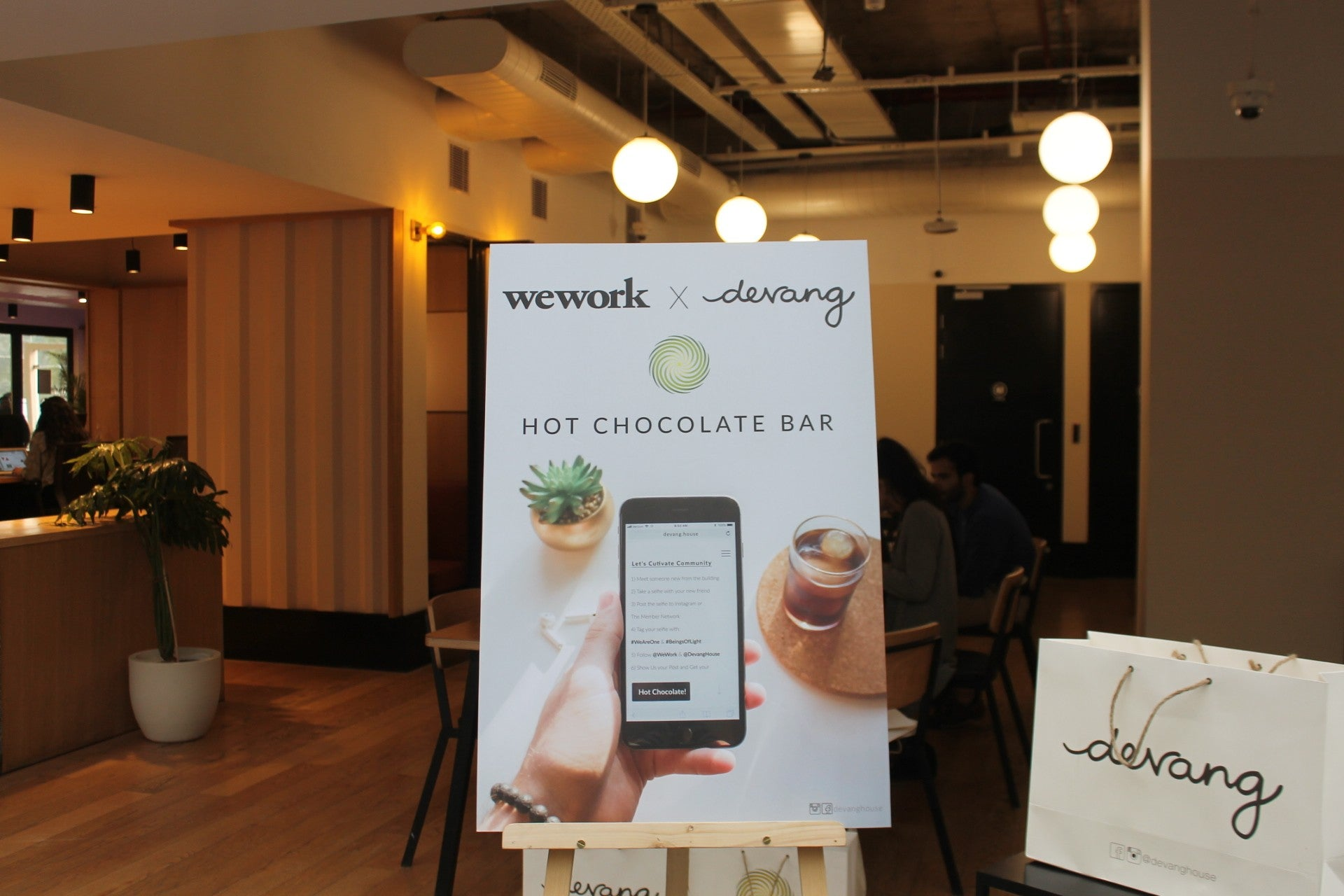 Hot Chocolate Bar, Wework