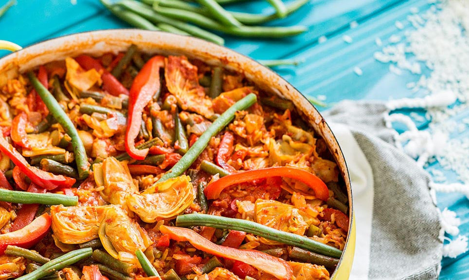 Vegan Paella: Recipe