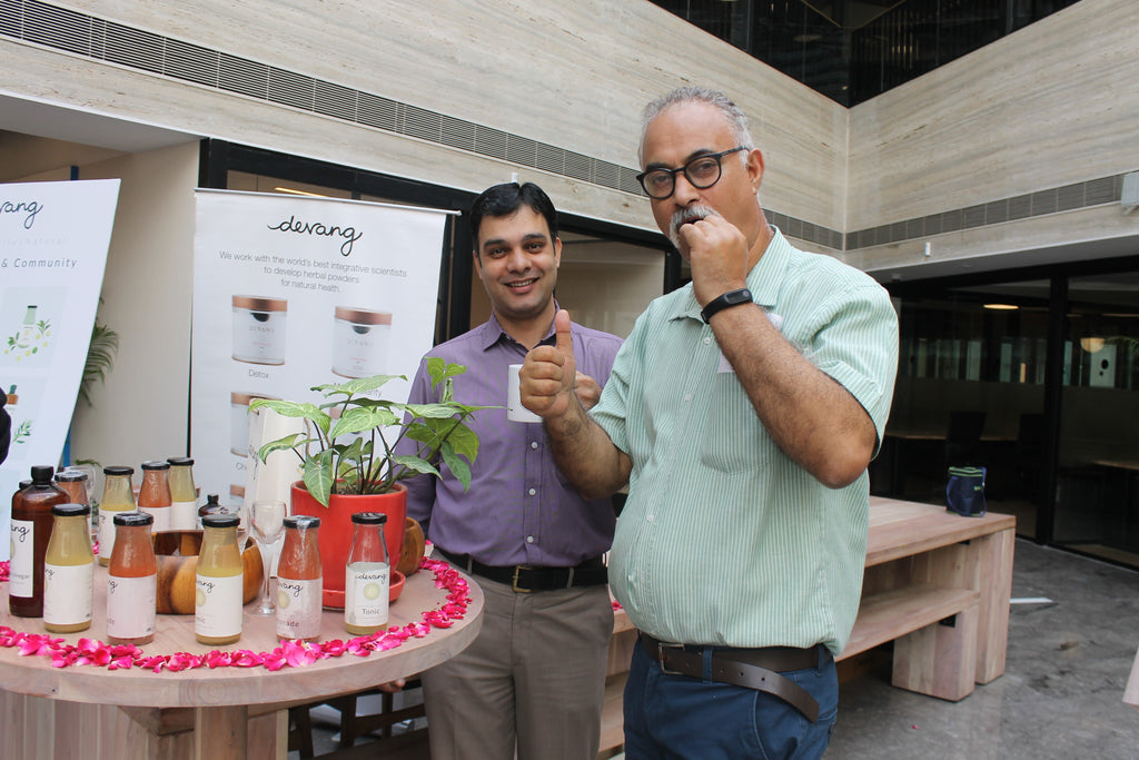 Devang The Detox Pop-Up at Wework