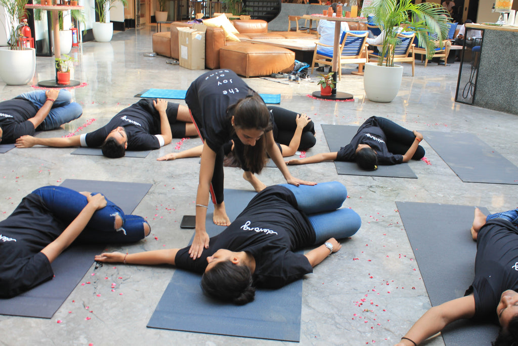 Devang International Yoga Day at Wework